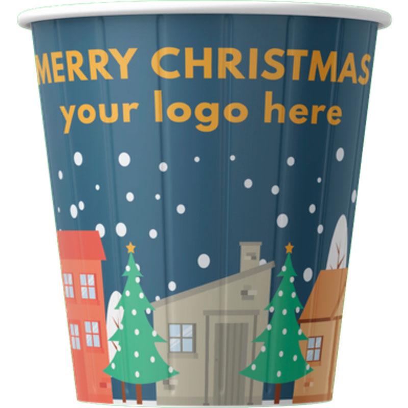 Pappersmuggar med Juldesign